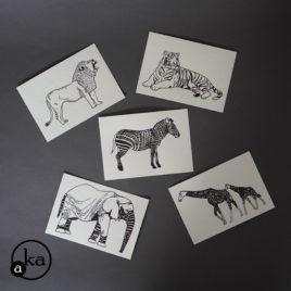 carte animaux afrique