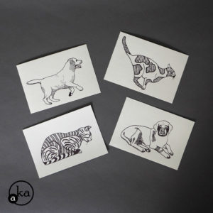 carte chien chat