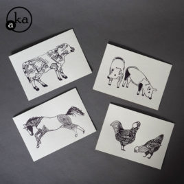 carte animaux ferme