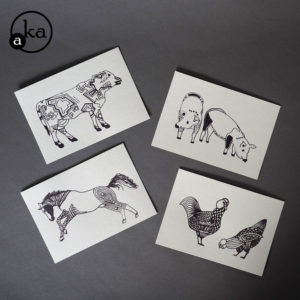 carte animaux ferme