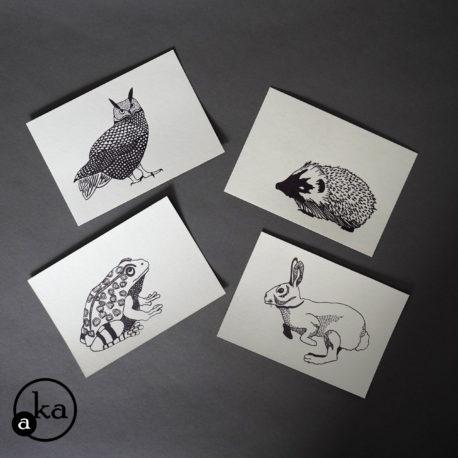 carte animaux jardin