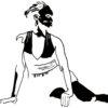 dessin danseuse Soraya Ebelle Afrique Atelier Aka 4