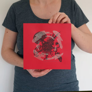 planete impression serigraphie linogravure atelier aka